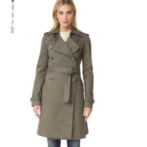 NWOT Rebecca Minkoff Amis Trench Coat w/ Grommets